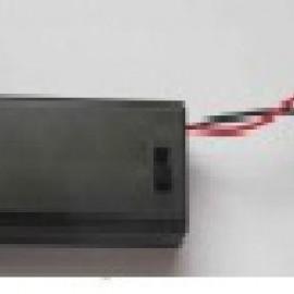 Отсеки к батарейкам 2ААА  закрытый, 63x25,5x15,5 с проводом 15см
