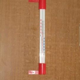 Термометр под шуруп белый