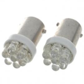 Светодиодная автолампа BA9S-1 LED Белый
