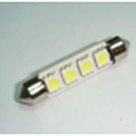 Светодиодная автолампа S-41MM-4x5050 Белый