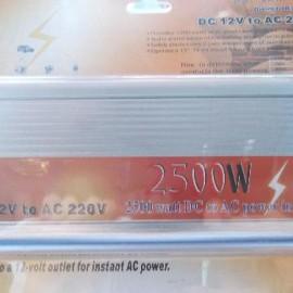 Преобразователь 12v-220v 2500w