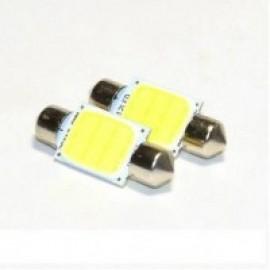 Светодиодная автолампа S-39MM-cob 12 chips Белый