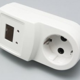 Корпус пластиковый VR1new (компл) (50x57x124mm) (№43)