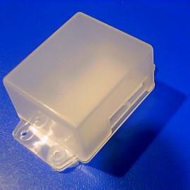 Корпус пластиковый AUO-2 прозр. (30x47x80mm) (№52)