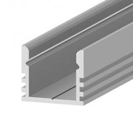 Алюминиевый профиль 2 метра с лентой высокий