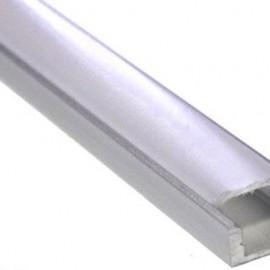 Алюминиевый профиль 2 метра с лентой низкий