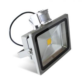 Прожектор LED 20BT холодное свечение с датчиком движения