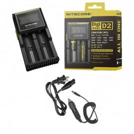 Универсальное зарядное устройство Nitecore Digi D2 для Li-Ion,LiFeP04,Ni-MH.Ni-Cd