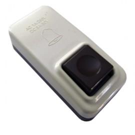 Кнопка для звонка коричневая