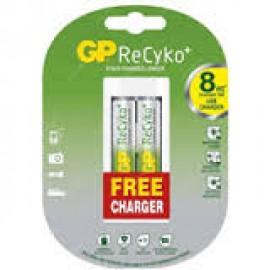Зарядное устройство GP 2*AA2100 mAh